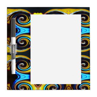 Swirling colors 04.2. y dry erase board