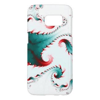 Swirling Fractal Art Samsung Phone Case