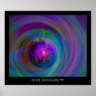 Swirling Kelp Poster