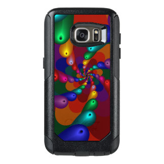 Swirling Metallic Drops of Color OtterBox Samsung Galaxy S7 Case