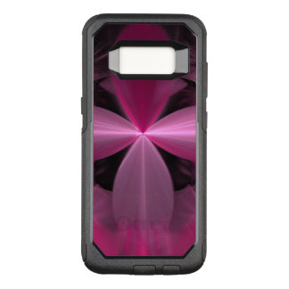 Swirling Pink Flower Petals Abstract OtterBox Commuter Samsung Galaxy S8 Case