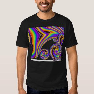 Swirling Rainbows Tee Shirts