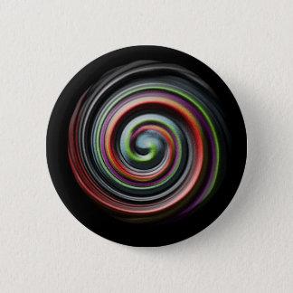 Swirling Sands 6 Cm Round Badge