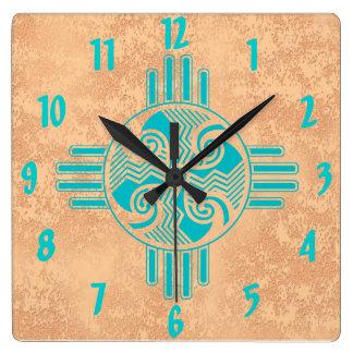 Swirling Winds Clock