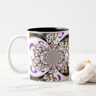 Swirls and Curves Mug