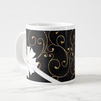 Swirls and Glitters Jumbo Mug