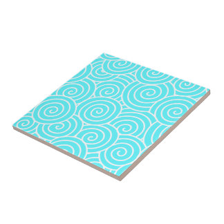 Swirls Ceramic Tile