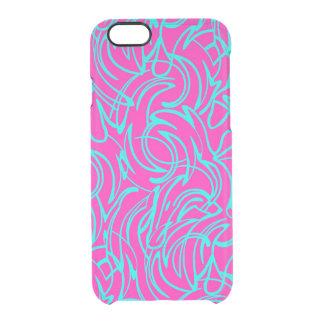 Swirls Clear iPhone 6/6S Case
