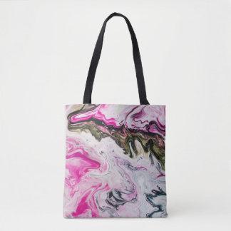 Swirls Design Tote Bag