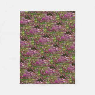 Swirls Fleece Blanket