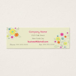 Swirls & Flowers Business / Profile Card