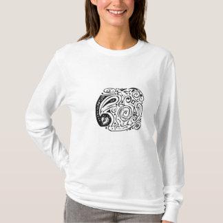 Swirls, hearts and paisley T-Shirt