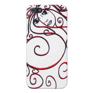 Swirls iPhone 4 Case