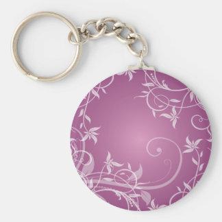 Swirls Key Ring