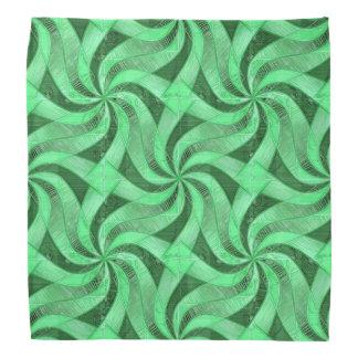 Swirls of Green Bandana