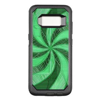 Swirls of Green OtterBox Commuter Samsung Galaxy S8 Case