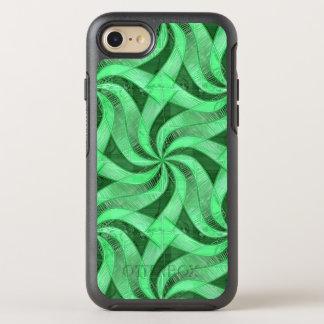Swirls of Green OtterBox Symmetry iPhone 8/7 Case