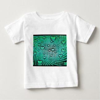 Swirls Of Hearts Baby T-Shirt