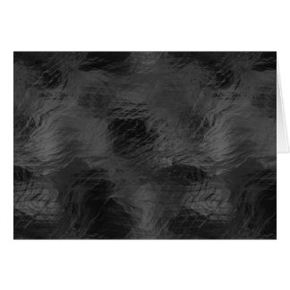 Swirls on Frosted Glass: Basic Black Card