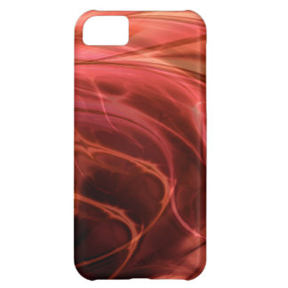 Swirls Red Case For iPhone 5C