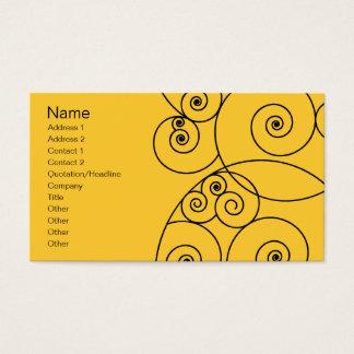 Swirls - Yellow