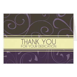 Swirly Administrative Professionals Day Card