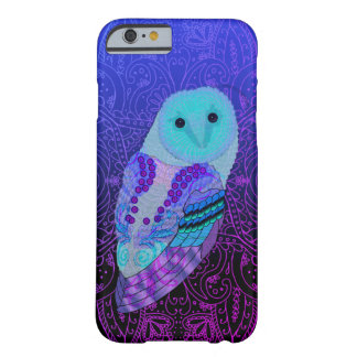 Swirly Barn Owl Barely There iPhone 6 Case