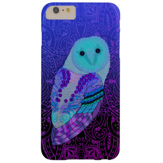 Swirly Barn Owl Barely There iPhone 6 Plus Case