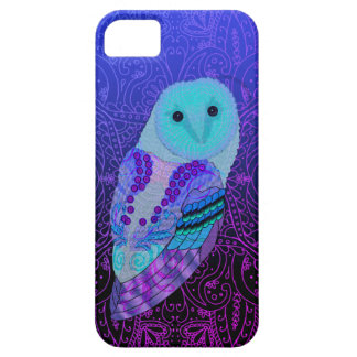 Swirly Barn Owl Case For The iPhone 5