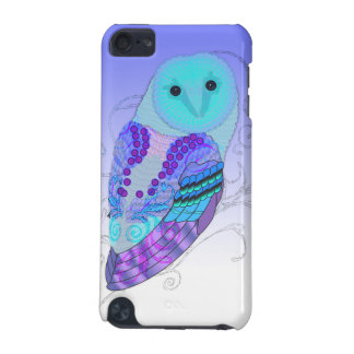 Swirly Barn Owl - Choose Your Color! iPod Touch (5th Generation) Cover