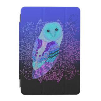 Swirly Barn Owl iPad Mini Cover