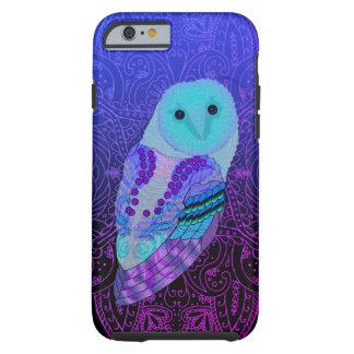 Swirly Barn Owl Tough iPhone 6 Case