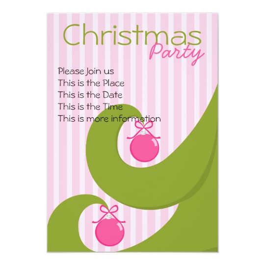 Swirly Christmas Card