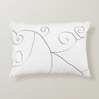 Swirly Decorative Cushion