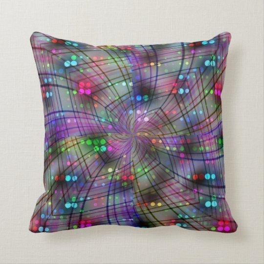 Swirly Disco Cushion