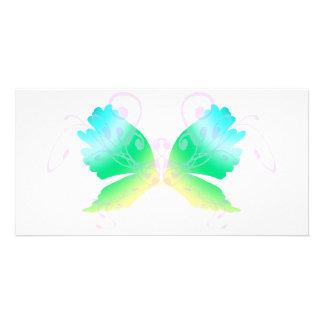 Swirly Fly II Customized Photo Card