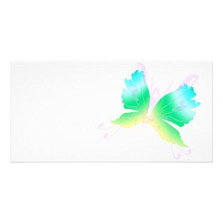 Swirly Fly III Customized Photo Card