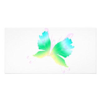 Swirly Fly III Photo Greeting Card