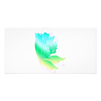 Swirly Fly  Photo Greeting Card