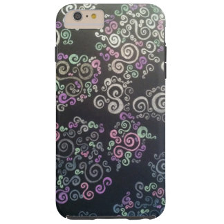 Swirly, fun phone case! tough iPhone 6 plus case