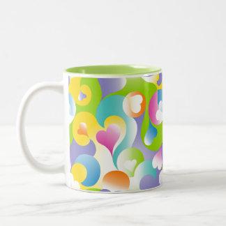 Swirly Hearts Mugs