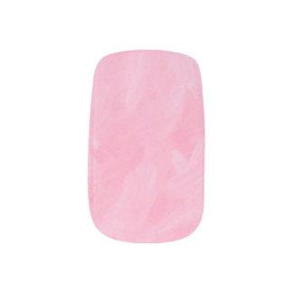 Swirly Ice Pink Minx Nail Art