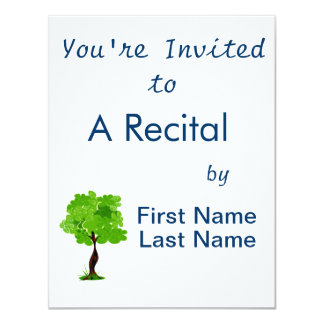 Swirly leaves green eco tree design.png personalized announcement