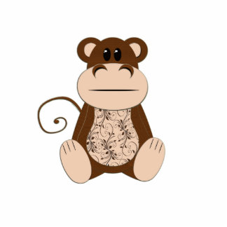 Swirly Monkey Photo Sculpture