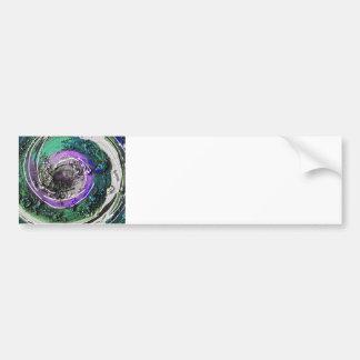 Swirly Paint Daubs Bumper Sticker