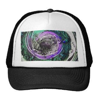 Swirly Paint Daubs Hat