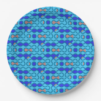 swirly paper plate