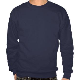 Swirly Peace Hand Pullover Sweatshirt