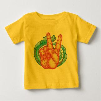 Swirly Peace Hand Tshirt