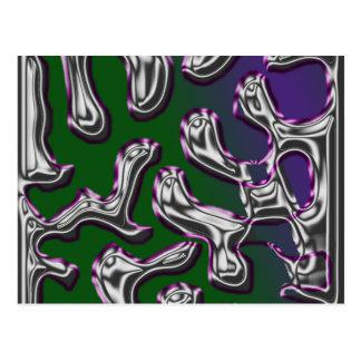 Swirly Postcards